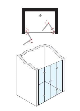 מקלחון חזיתי פלג 515