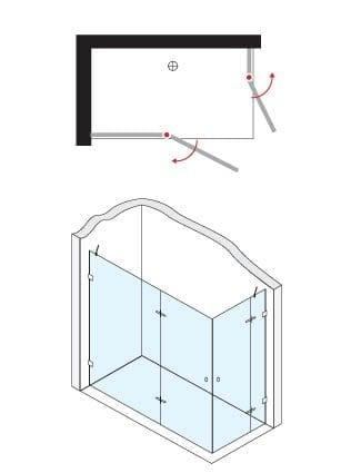 מקלחון חזית 932