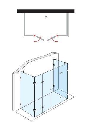 מקלחון מעוצב 933